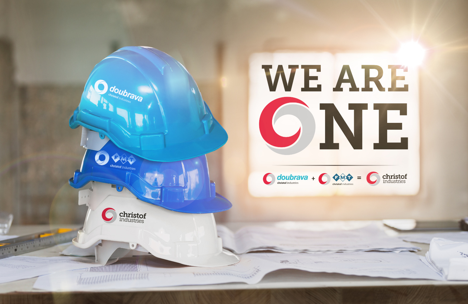 WE ARE ONE! FMT is now Christof Industries